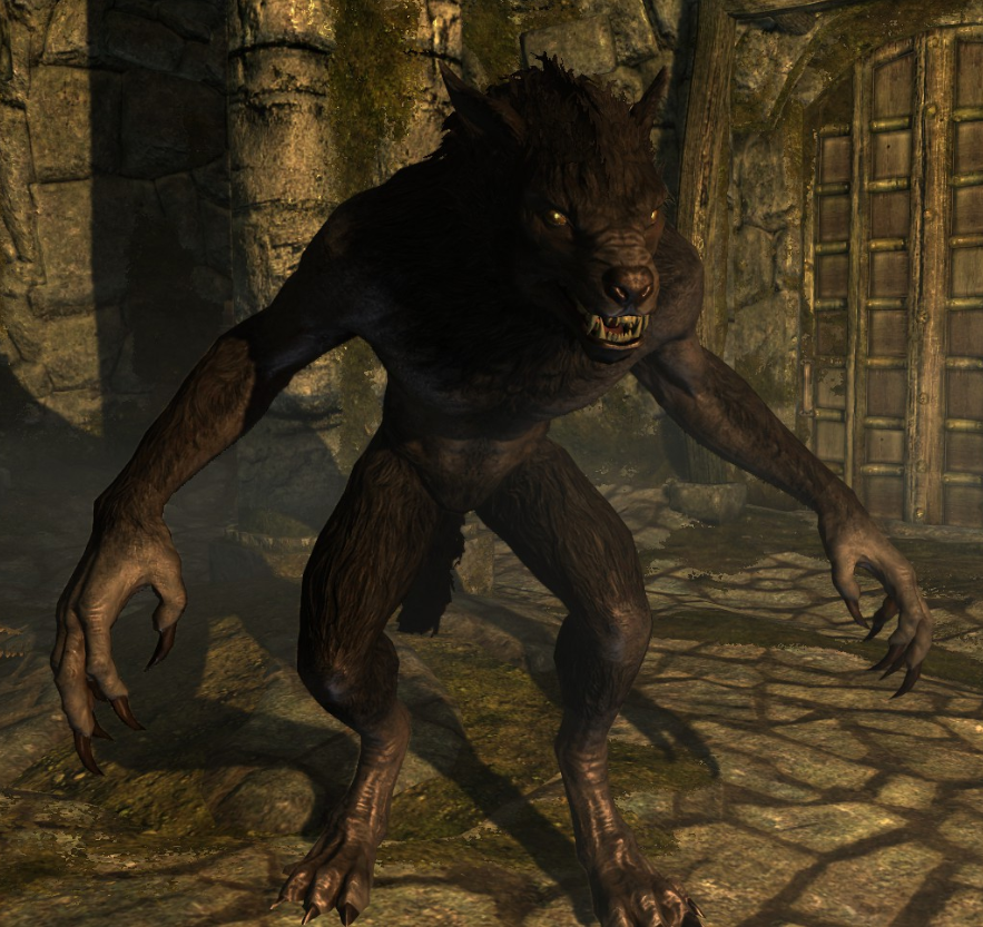 Cool Ancient Werewolf Lycanthropy Art