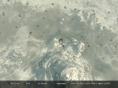Вайтран - Лагерь Братьев Бури карта
