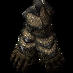 Драконьи чешуйчатые перчатки