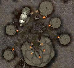 Лагерь Уршилаку. План