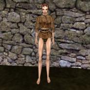 Простая рубашка (Morrowind) 10 (жен)