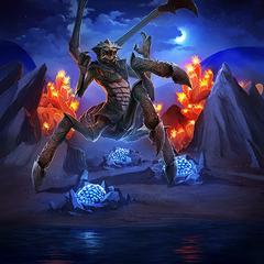 """Karta """"Matrona Niebieskich Pazurów"""" z gry The Elder Scrolls: Legends"""