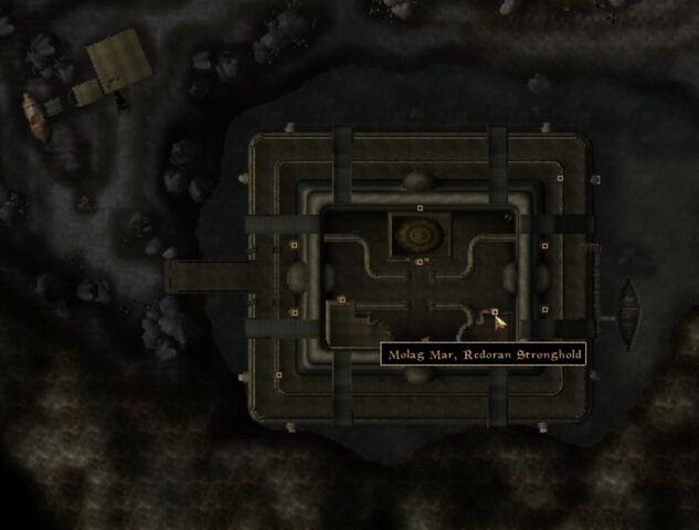 File:TES3 Morrowind - Molag Mar - Redoran Stronghold location map.jpg