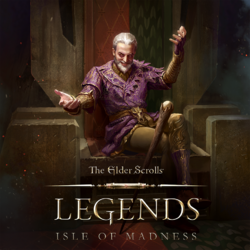 The Elder Scrolls Legends Isles of Madness Cover