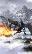 Blood Dragon card art