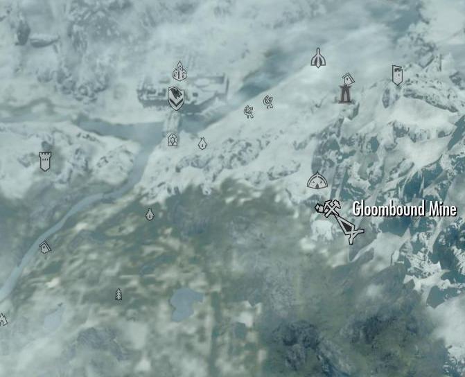 Skyrim ebony ore mine locations