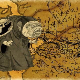 Sload z ekranu ładowania z gry The Elder Scrolls Adventures: Redguard