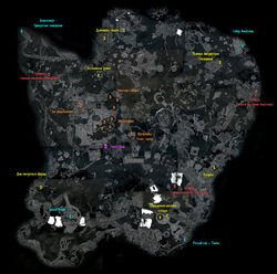 Blackreach Map