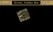 Gnisis, Vabdas Hut Interior Map Morrowind