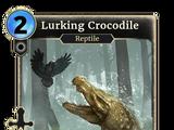Lurking Crocodile