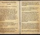 Ruminations on the Elder Scrolls (Online)