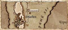 Блакенмарш. Карта