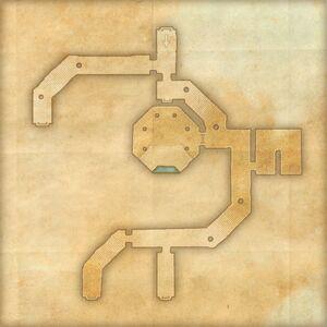 Руины Коллегии Псиджиков (план) 1