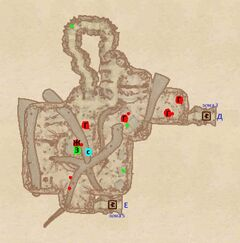 Чёрное логово - Внутренний лагерь. План