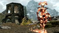 Atronach de las llamas (Skyrim)