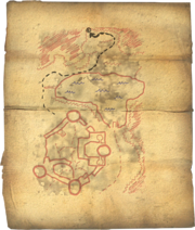 Fort Neugrad Treasure Map