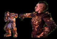 Morrowind PvP emote insulto