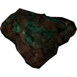 Ore corundum