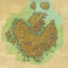 Гнездо Кенарти-Дорожное святилище Гнезда Кенарти-Карта