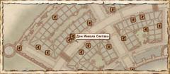 Дом Иниэла Синтава. Карта