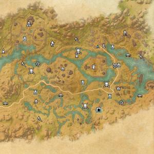 Исследование зачарователя Дешаан (карта)