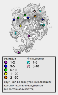 Кричалка - карта