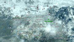 Otkos kregvellou map