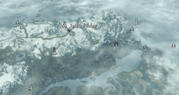 Ravenscar hollow map