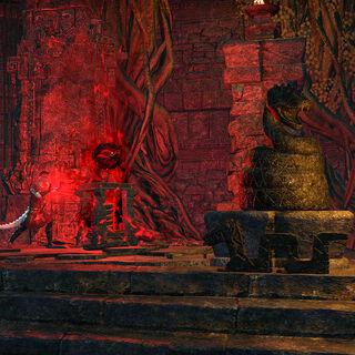 Argoniański rytuał przyzywający Sithisa z gry The Elder Scrolls Online