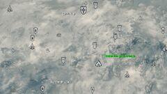 Zakatnaya rasselina map