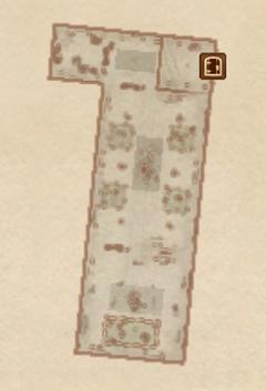 Замок Чейдинхол - Большой зал (1). План