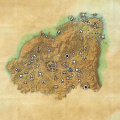 Ривенспайр-Инеевая возвышенность-Карта