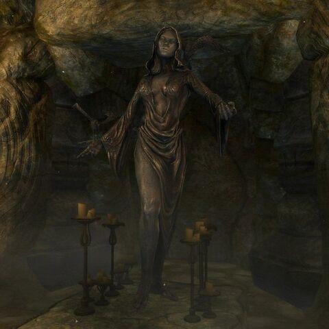Kaplica Nocnicy z gry The Elder Scrolls V: Skyrim