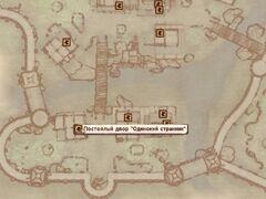 Постоялый двор «Одинокий Странник» карта