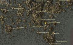 Яичная шахта Абебаал. Карта