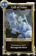 Call of Valor level 1 DWD
