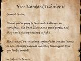 Non-Standard Techniques