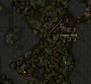 TES3 Morrowind - Bitter Coast - Shurinbaal (cave) - location map