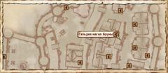 Гильдия магов Брумы. Карта