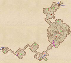 Разбазаренная шахта - Змеиные туннели. План