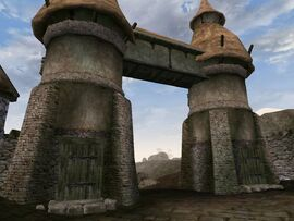 Caldera North Guard Towers