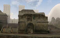 TES3 Morrowind - Balmora - Fast Eddie's House and Itan's House exterior