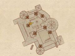 Замок Скинград - Двор