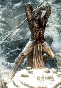 Malacath Statua Skyrim