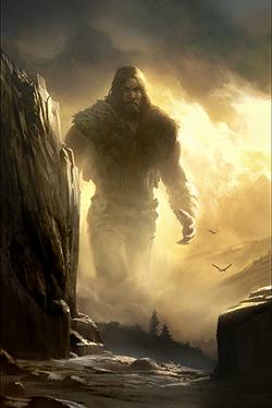 Starożytny gigant (Legends)