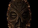 Деревянная маска