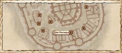 Дом Регнера. Карта