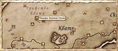 Пещера Хрупкая Скала. Карта