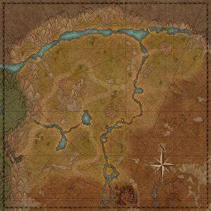 Северные леса (карта)