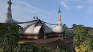 Mournhold, Temple Courtyard - Morrowind